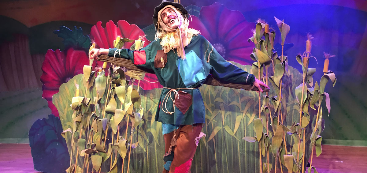 Image from previous production of Wizard of Oz.