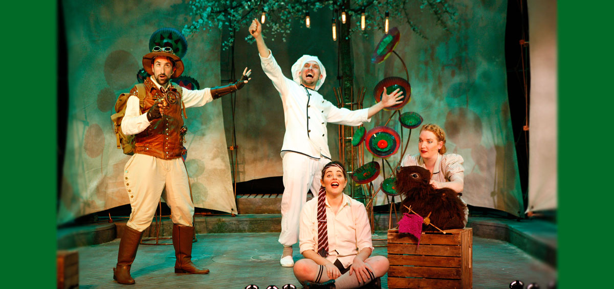 "***** … a masterclass in witty, engaging imaginative musical theatre for children.""  MUSICAL THEATRE REVIEW"