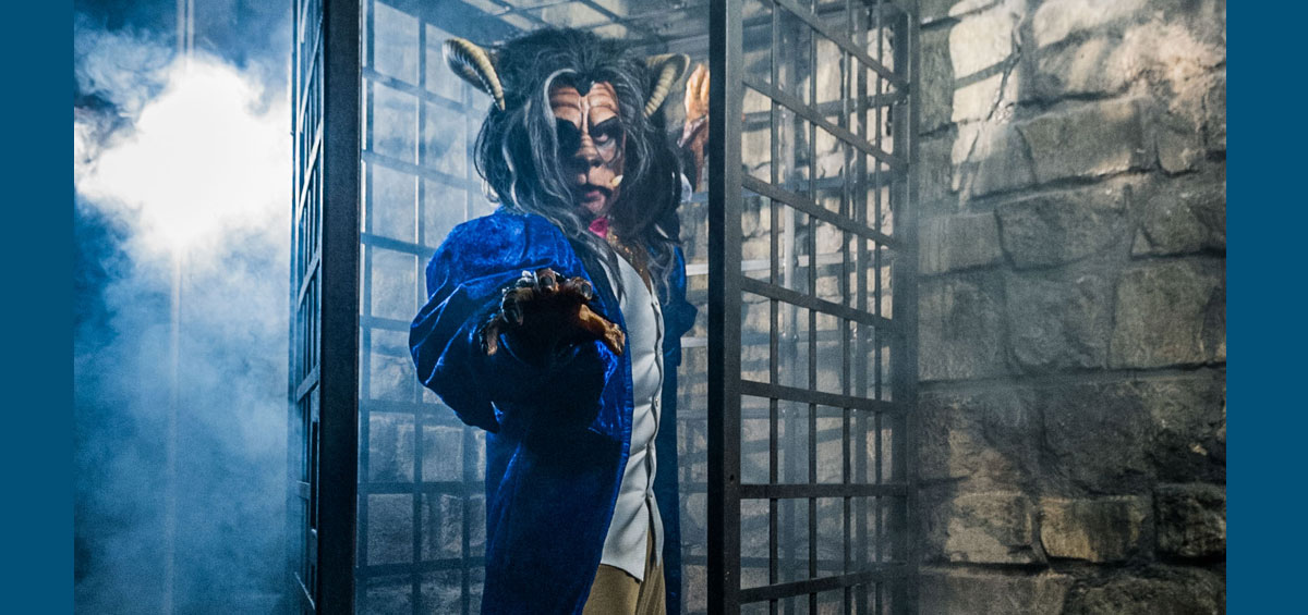 Please note that all images are from a previous Three Bears Beauty and the Beast production. Picture: James Hardisty & Credit: Yorkshire Post Newspapers.